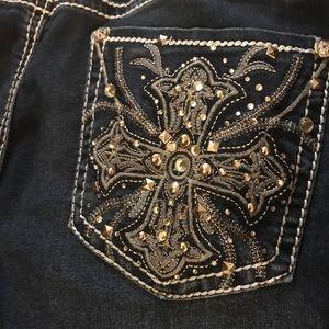 Apt 9 Embellished Capri Jeans Size 12